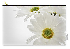 Daisies For You Carry-all Pouch by Diane Alexander