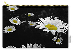 Daisies Carry-all Pouch by GJ Blackman
