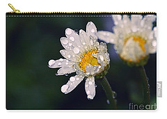 Daisies In The Rain Carry-all Pouch