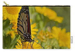 Carry-all Pouch featuring the photograph Daisy Daisy Give Me Your Anther Do by Gary Holmes