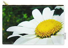 Carry-all Pouch featuring the photograph Daisy Daisy by Tiffany Erdman