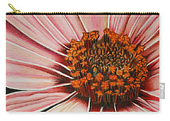 Daisy In Pink Carry-all Pouch