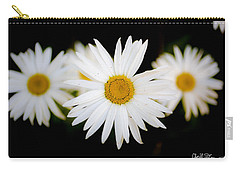 Daisy Trio Carry-all Pouch by Charlie Duncan