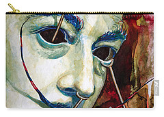 Carry-all Pouch featuring the painting Dali 2 by Laur Iduc