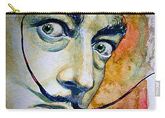 Carry-all Pouch featuring the painting Dali by Laur Iduc
