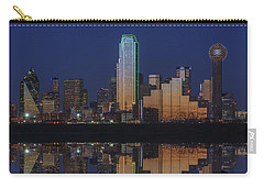 Dallas Aglow Carry-all Pouch by Rick Berk