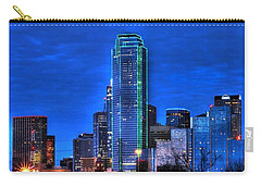 Dallas Skyline Hd Carry-all Pouch