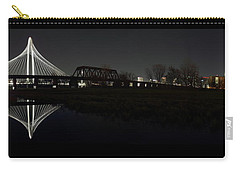 Dallas Skyline Hunt Bridge Color Carry-all Pouch