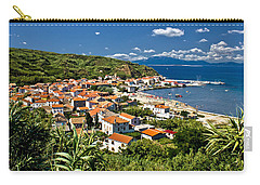 Dalmatian Island Of Susak Village And Harbor Carry-all Pouch