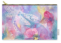 Dance Of The Dragonfly Carry-all Pouch