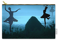 Carry-all Pouch featuring the photograph Dance Of The Sea by Joyce Dickens