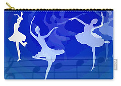 Dance The Blues Away Carry-all Pouch