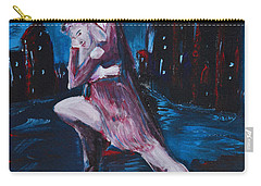 Dance The Night Away Carry-all Pouch by Donna Blackhall