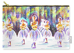 Dancers In The Forest II Carry-all Pouch by Kip DeVore