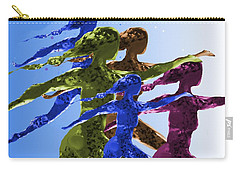 Dancers Carry-all Pouch by Mary Armstrong