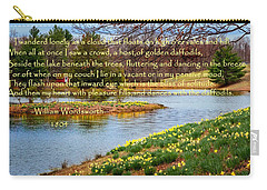 Dances With The Daffodils Carry-all Pouch by Bill Wakeley