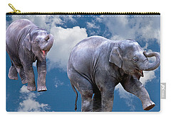 Dancing Elephants Carry-all Pouch