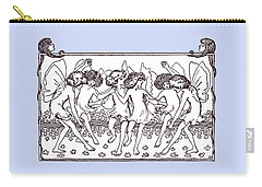 Dancing Fairies From 1896 Carry-all Pouch