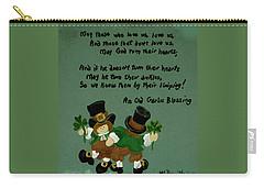 Dancing Folk Carry-all Pouch by Barbara McDevitt
