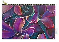 Dancing Hyacinths Carry-all Pouch