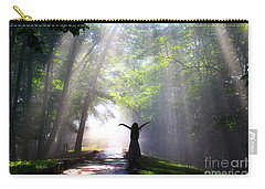 Dancing In God's Light Copyright Willadawn Photography Carry-all Pouch