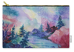 Dancing Lights II Carry-all Pouch