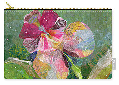 Dancing Orchid IIi Carry-all Pouch by Shadia Derbyshire