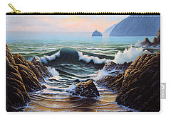 Dancing Tide Carry-all Pouch by Frank Wilson