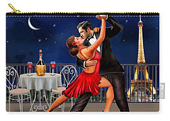 Dancing Under The Stars Carry-all Pouch by Glenn Holbrook