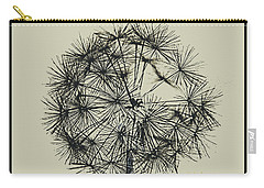 Carry-all Pouch featuring the photograph Dandelion 6 by Kathy Barney