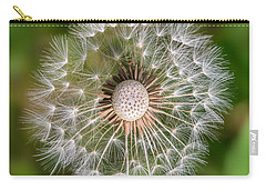Carry-all Pouch featuring the photograph Dandelion by Carsten Reisinger
