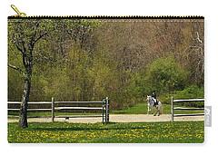 Dandelion Dressage Carry-all Pouch by Joan Davis