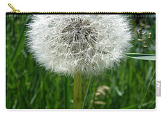Dandelion Fluff Carry-all Pouch by Kerri Mortenson