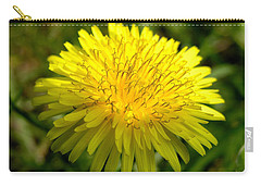 Carry-all Pouch featuring the digital art Dandelion by Ron Harpham
