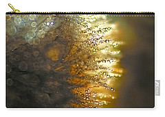 Dandelion Shine Carry-all Pouch by Peggy Collins