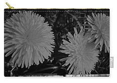 Dandelion Weeds? B/w Carry-all Pouch by Martin Howard