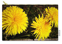 Dandelion Weeds? Carry-all Pouch by Martin Howard