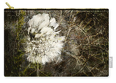Carry-all Pouch featuring the photograph Dandelions Don't Care About The Time by Belinda Greb
