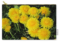 Golden Dandelions Carry-all Pouch