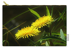 Carry-all Pouch featuring the photograph Dandelions by Sherman Perry