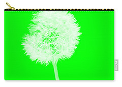 Carry-all Pouch featuring the digital art Dandylion Green by Clayton Bruster