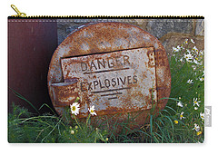 Danger Explosives Carry-all Pouch