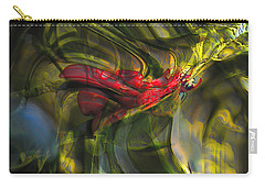 Carry-all Pouch featuring the digital art Dangerous by Richard Thomas