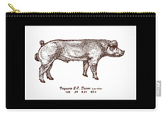 Danish Duroc Carry-all Pouch