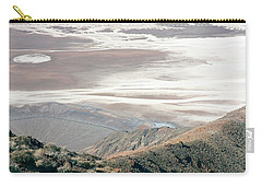 Carry-all Pouch featuring the photograph Dante's View #1 by Stuart Litoff