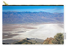 Carry-all Pouch featuring the photograph Dante's View #3 by Stuart Litoff