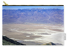 Carry-all Pouch featuring the photograph Dante's View #4 by Stuart Litoff