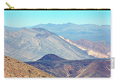 Carry-all Pouch featuring the photograph Dante's View #5 by Stuart Litoff