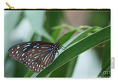Dark Blue Tiger Butterfly #2 Carry-all Pouch