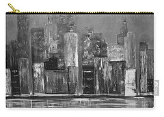 Dark Clouds Over The City Carry-all Pouch